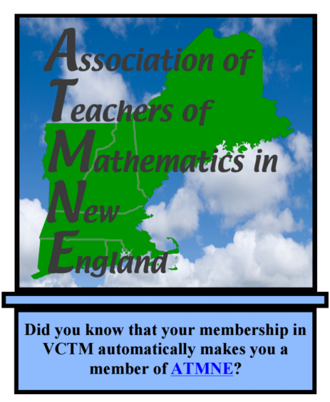 Did you know, your VCTM membership makes you a member of ATMNE